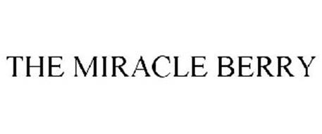 THE MIRACLE BERRY