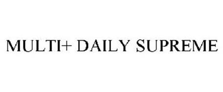 MULTI+ DAILY SUPREME