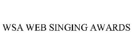WSA WEB SINGING AWARDS