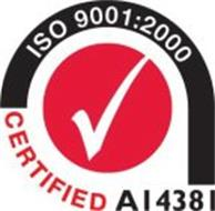 ISO 9001:2000 CERTIFIED A14381