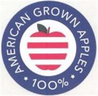 100% AMERICAN GROWN APPLES