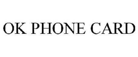 OK PHONE CARD
