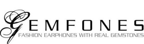 GEMFONES FASHION EARPHONES WITH REAL GEMSTONES
