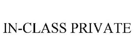 IN-CLASS PRIVATE