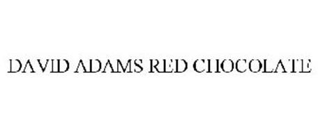 DAVID ADAMS RED CHOCOLATE