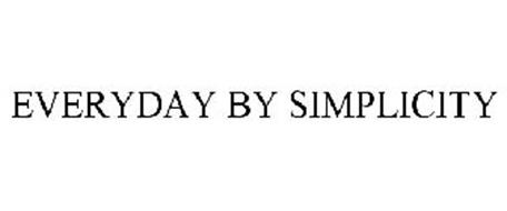 EVERYDAY BY SIMPLICITY