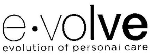 E VOLVE EVOLUTION OF PERSONAL CARE