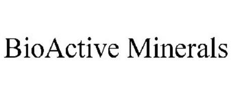 BIOACTIVE MINERALS