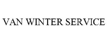VAN WINTER SERVICE