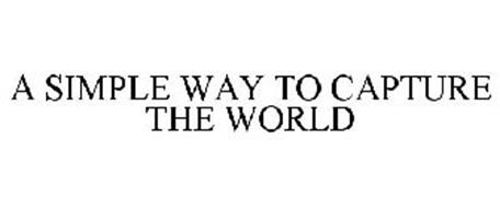 A SIMPLE WAY TO CAPTURE THE WORLD