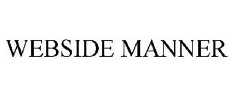 WEBSIDE MANNER