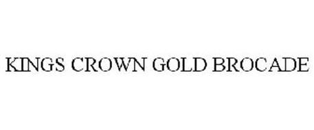 KINGS CROWN GOLD BROCADE