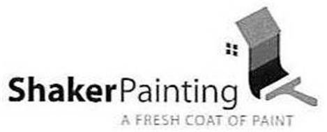 SHAKER PAINTING A FRESH COAT OF PAINT