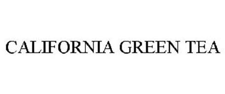 CALIFORNIA GREEN TEA