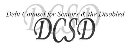 DCSD DEBT COUNSEL FOR SENIORS & THE DISABLED DCSD