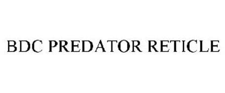 BDC PREDATOR RETICLE