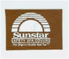SUNSTAR SAFETY SPA COVERS THE ORIGINAL QUALITY SPA TOP