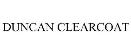 DUNCAN CLEARCOAT