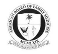 AMERICAN BOARD OF FAMILY MEDICINE MCMLXIX