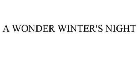 A WONDER WINTER'S NIGHT