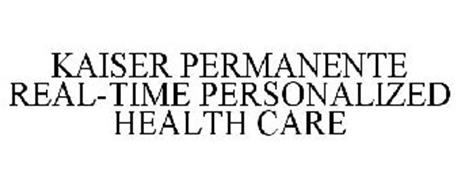 KAISER PERMANENTE REAL-TIME PERSONALIZED HEALTH CARE