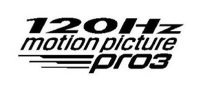120HZ MOTION PICTURE PRO3