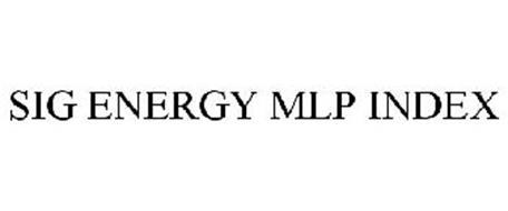 SIG ENERGY MLP INDEX