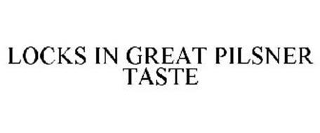LOCKS IN GREAT PILSNER TASTE