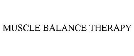 MUSCLE BALANCE THERAPY