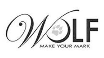 WOLF MAKE YOUR MARK