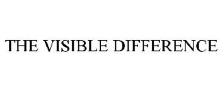 THE VISIBLE DIFFERENCE