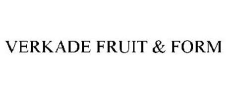 VERKADE FRUIT & FORM