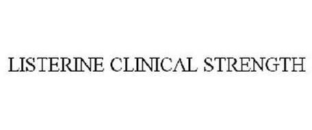 LISTERINE CLINICAL STRENGTH