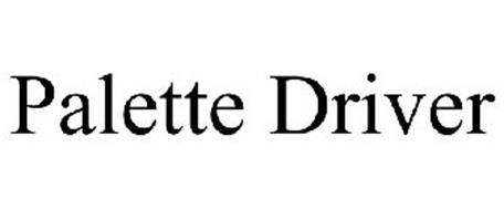 PALETTE DRIVER