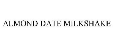 ALMOND DATE MILKSHAKE