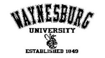 WAYNESBURG UNIVERSITY ESTABLISHED 1849 WESIGN ESTABLISHED 1849