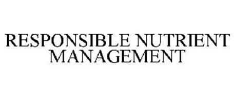 RESPONSIBLE NUTRIENT MANAGEMENT