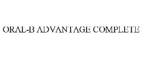 ORAL-B ADVANTAGE COMPLETE