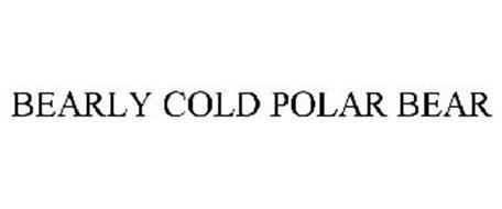 BEARLY COLD POLAR BEAR