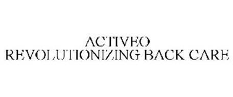 ACTIVEO REVOLUTIONIZING BACK CARE