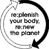 RE:PLENISH YOUR BODY, RE:NEW THE PLANET