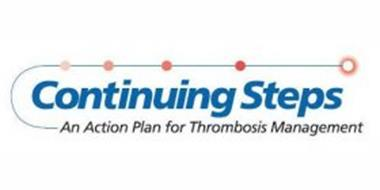 CONTINUING STEPS AN ACTION PLAN FOR THROMBOSIS MANAGEMENT