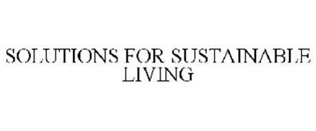 SOLUTIONS FOR SUSTAINABLE LIVING