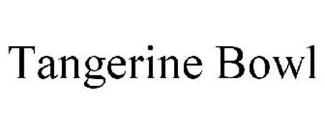 TANGERINE BOWL