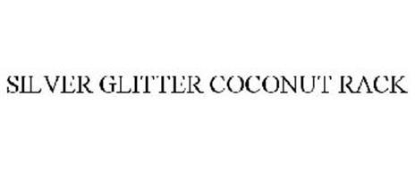 SILVER GLITTER COCONUT RACK