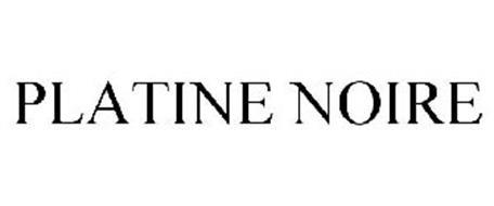 PLATINE NOIRE