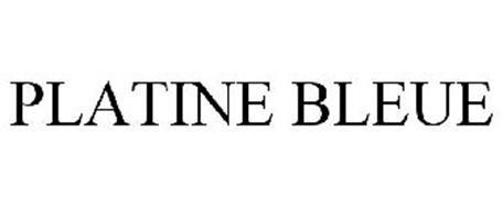 PLATINE BLEUE
