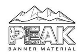 PEAK BANNER MATERIAL