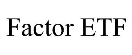 FACTOR ETF