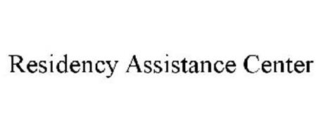 RESIDENCY ASSISTANCE CENTER